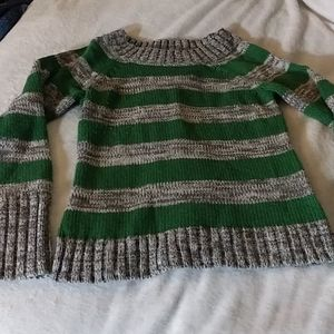 Heavy Knit Striped Sweater